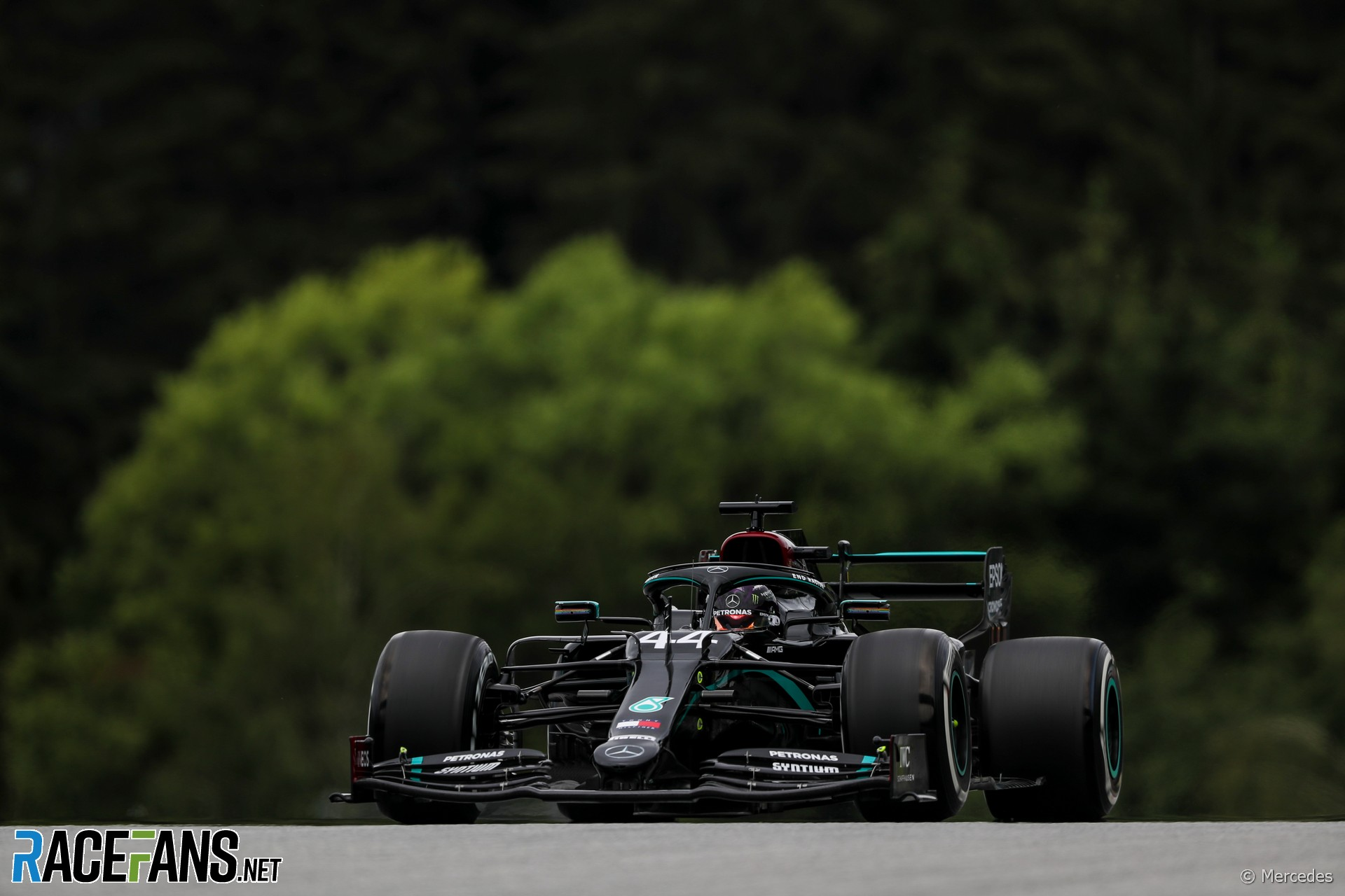Hamilton leads Mercedes one-two, Ferrari only 10th in first practice · RaceFans