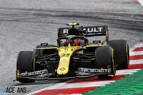 Esteban Ocon, Renault, Red Bull Ring, 2020