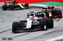 George Russell, Williams, Red Bull Ring, 2020