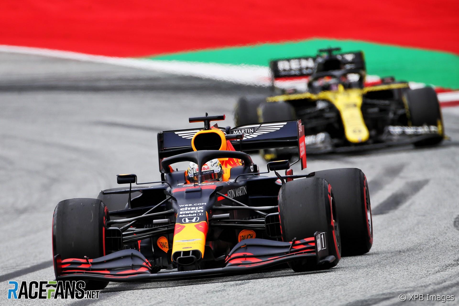 Max Verstappen, Red Bull, Red Bull Ring, 2020