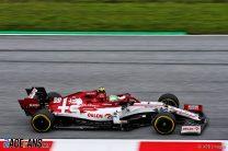 Antonio Giovinazzi, Alfa Romeo, Red Bull Ring, 2020