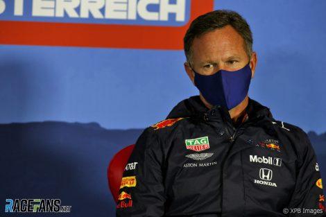 Christian Horner, Red Bull, Red Bull Ring, 2020
