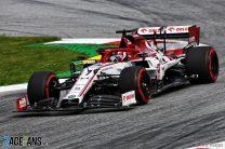 Kimi Raikkonen, Alfa Romeo, Red Bull Ring, 2020
