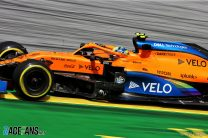 Norris at risk of grid penalty for overtaking under yellow flags