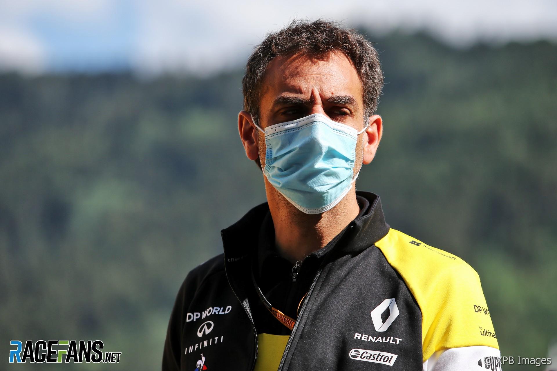 Cyril Abiteboul, Renault, Red Bull Ring, 2020