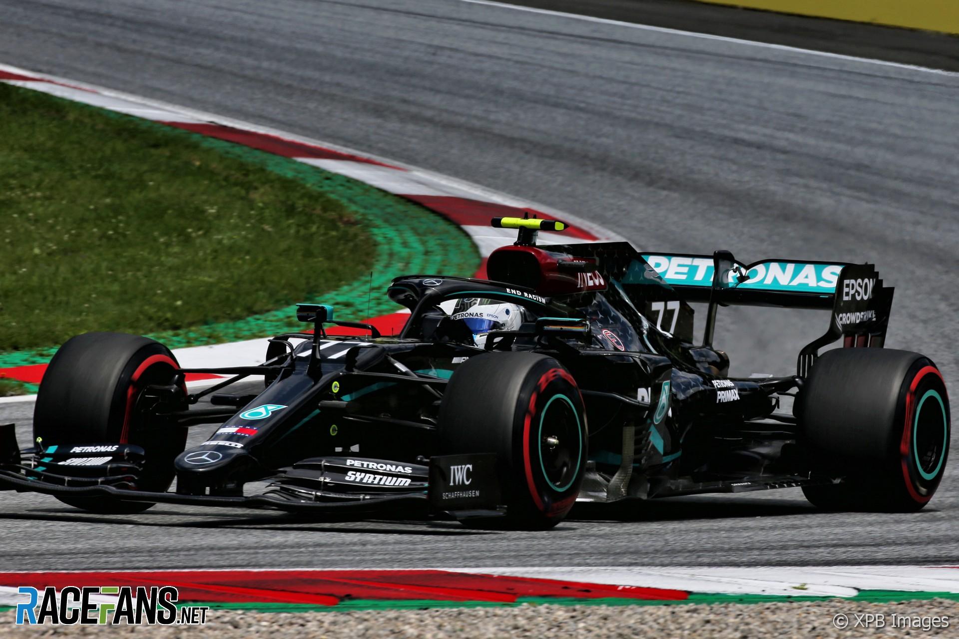 2020 Austrian Grand Prix F1 Starting Grid Racefans