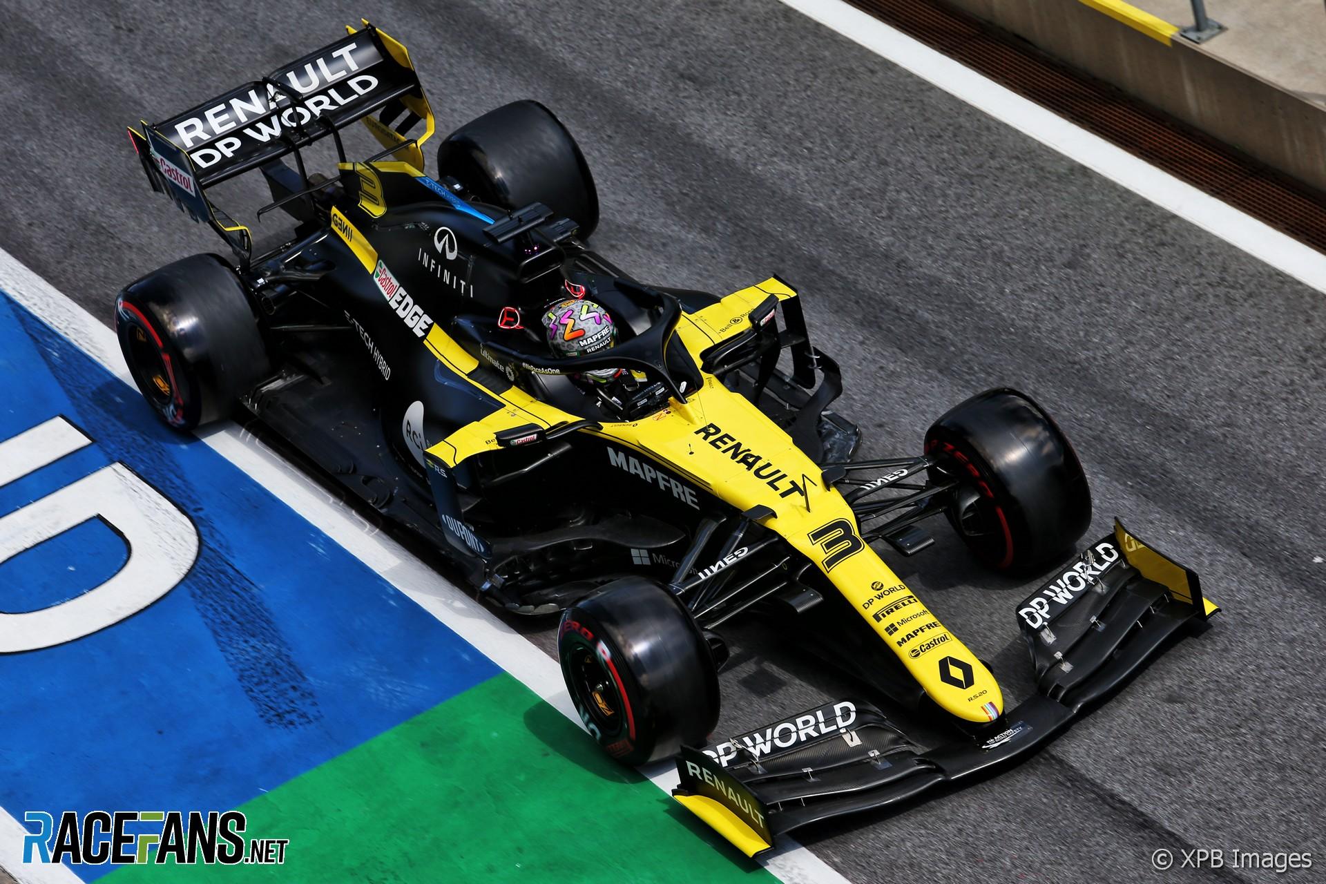 Daniel Ricciardo Renault Red Bull Ring 2020 Racefans