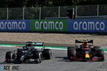 Hamilton collision cost me chance to win, says Albon