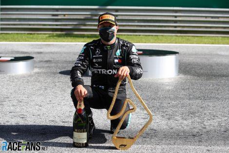 Valtteri Bottas, Mercedes, Red Bull Ring, 2020