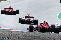 """""""Somebody took off my rear wing"""": How Ferrari's race ended in 26 seconds"""