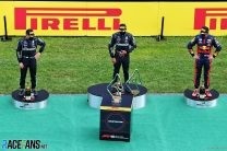 F1's trophy robots are 'a bit over the top' – Hamilton