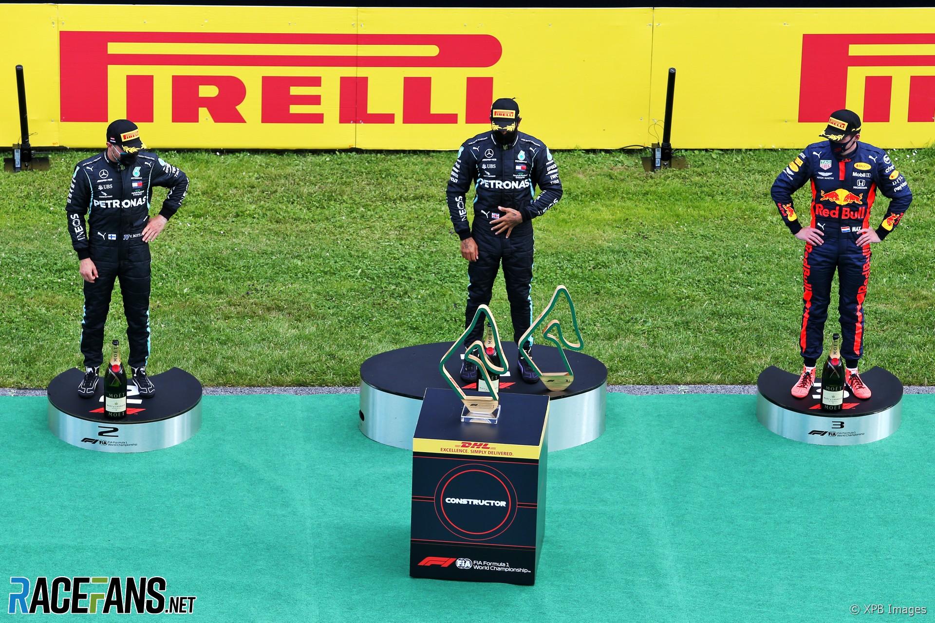 F1 S Trophy Robots Are A Bit Over The Top Hamilton Racefans