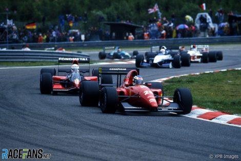 Ivan Capelli, Ferrari, Spa-Francorchamps, 1992