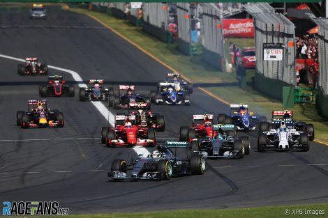 Albert Park should return on the 2022 F1 calendar