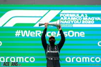 Hamilton unopposed as he takes eighth Hungarian GP win and title lead