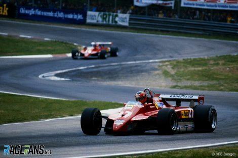 Gilles Villeneuve, Ferrari, Imola, 1982