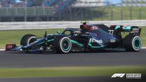 Codemasters F1 2020 screenshot – Mercedes  end racism livery