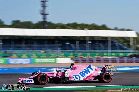 Nico Hulkenberg, Racing Point, Silverstone, 2020