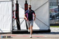 Hulkenberg's return was approved just 15 minutes before practice began