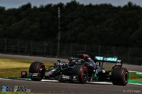 Hamilton spins his way to record-breaking pole position