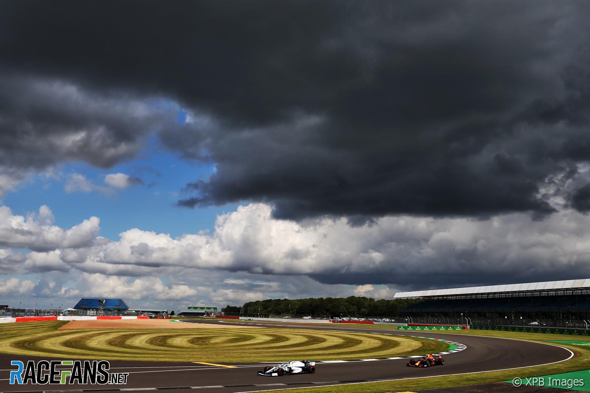Nicholas Latifi, Williams, Silverstone, 2020