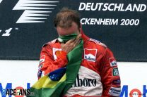 Barrichello takes maiden win as Mercedes protester disrupts race