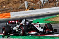 "Grosjean puzzled by ""horrible"" handling despite third-fastest lap"