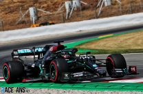 Hamilton leads all-Mercedes front row as Verstappen lines up to attack from third
