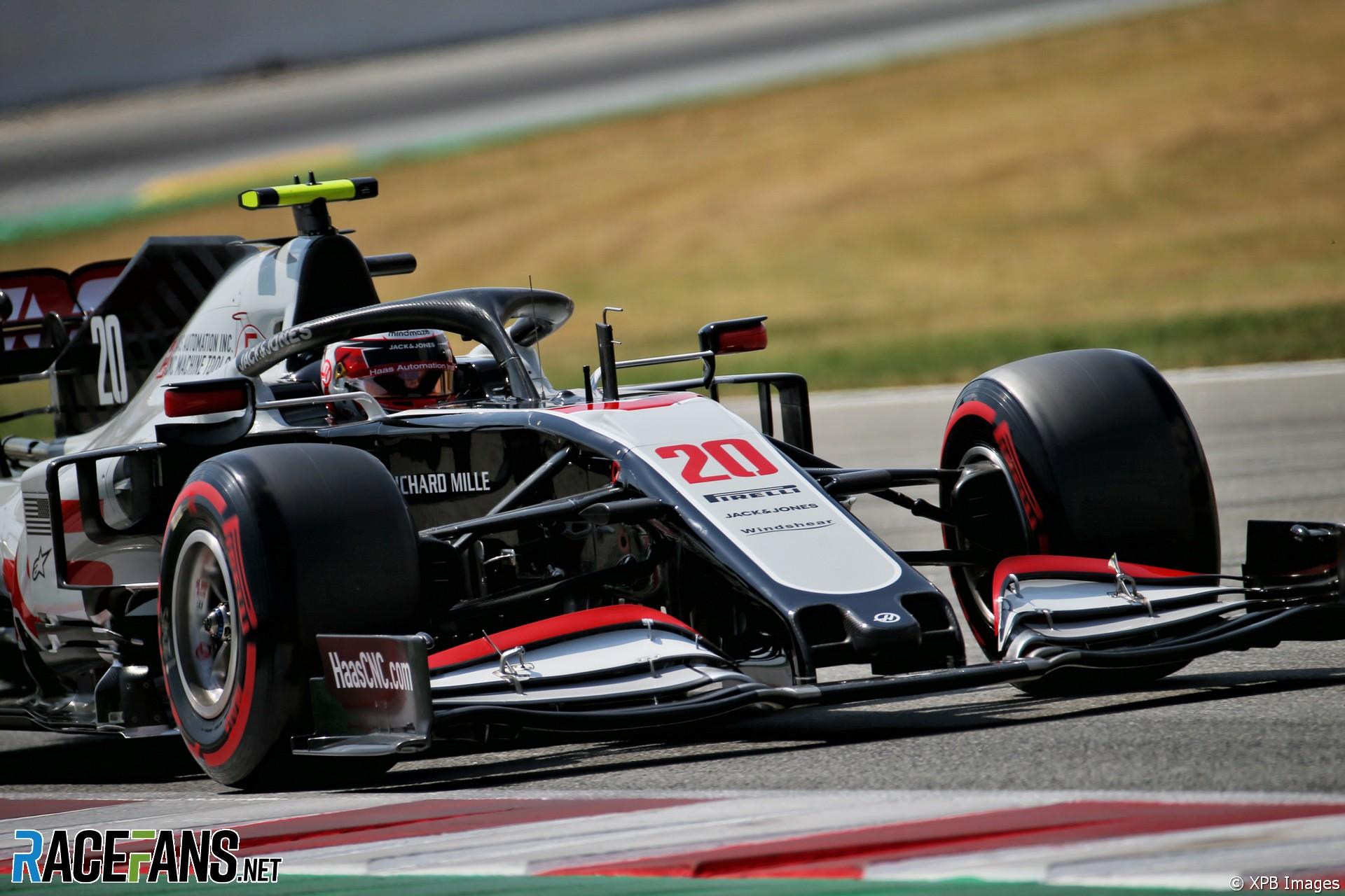 Kevin Magnussen, Haas, Circuit de Catalunya, 2020