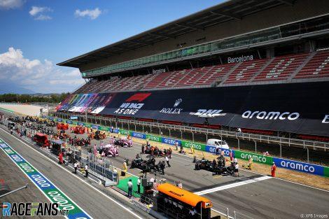 Grid, Circuit de Catalunya, 2020