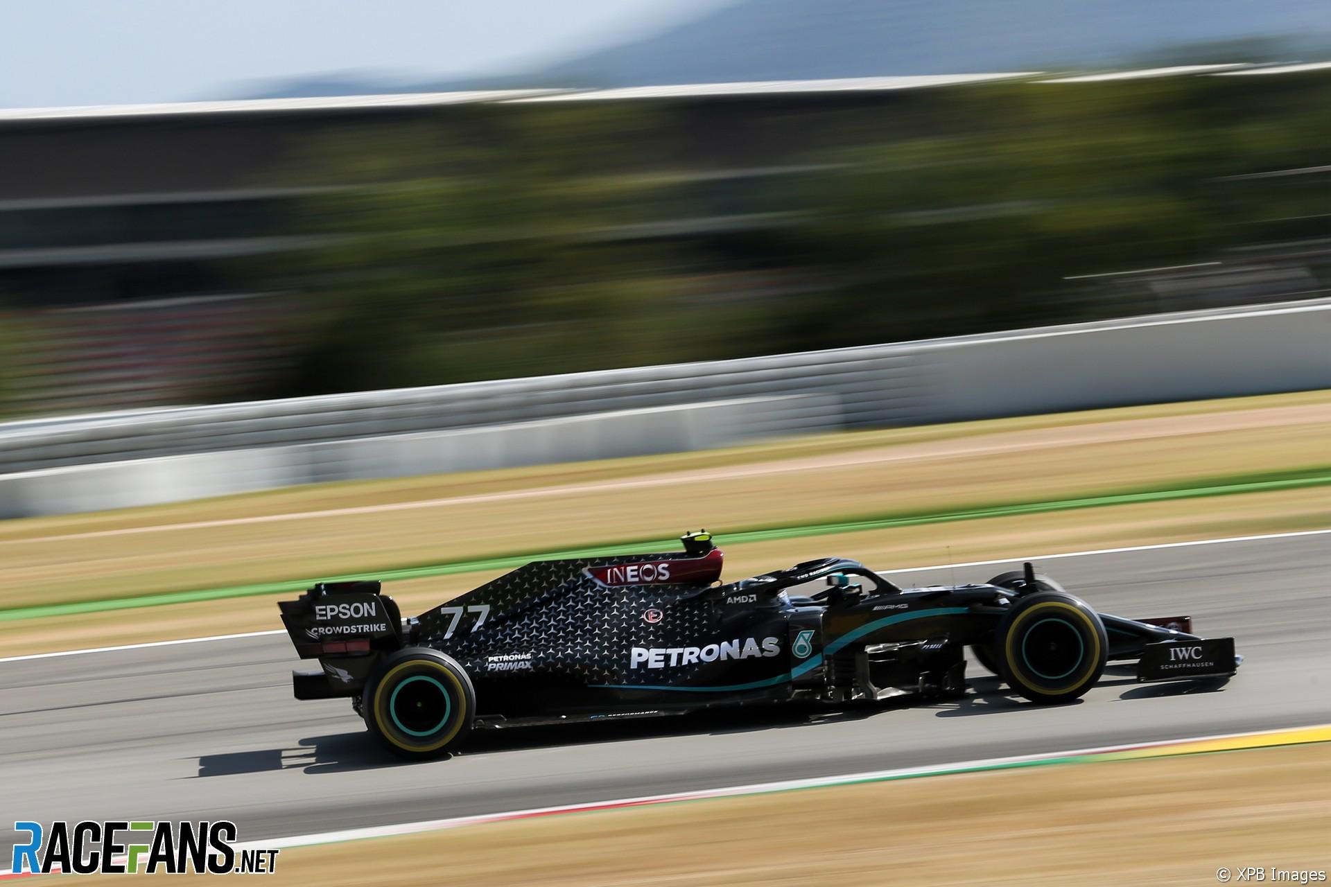 Valtteri Bottas, Mercedes, Circuit de Catalunya, 2020