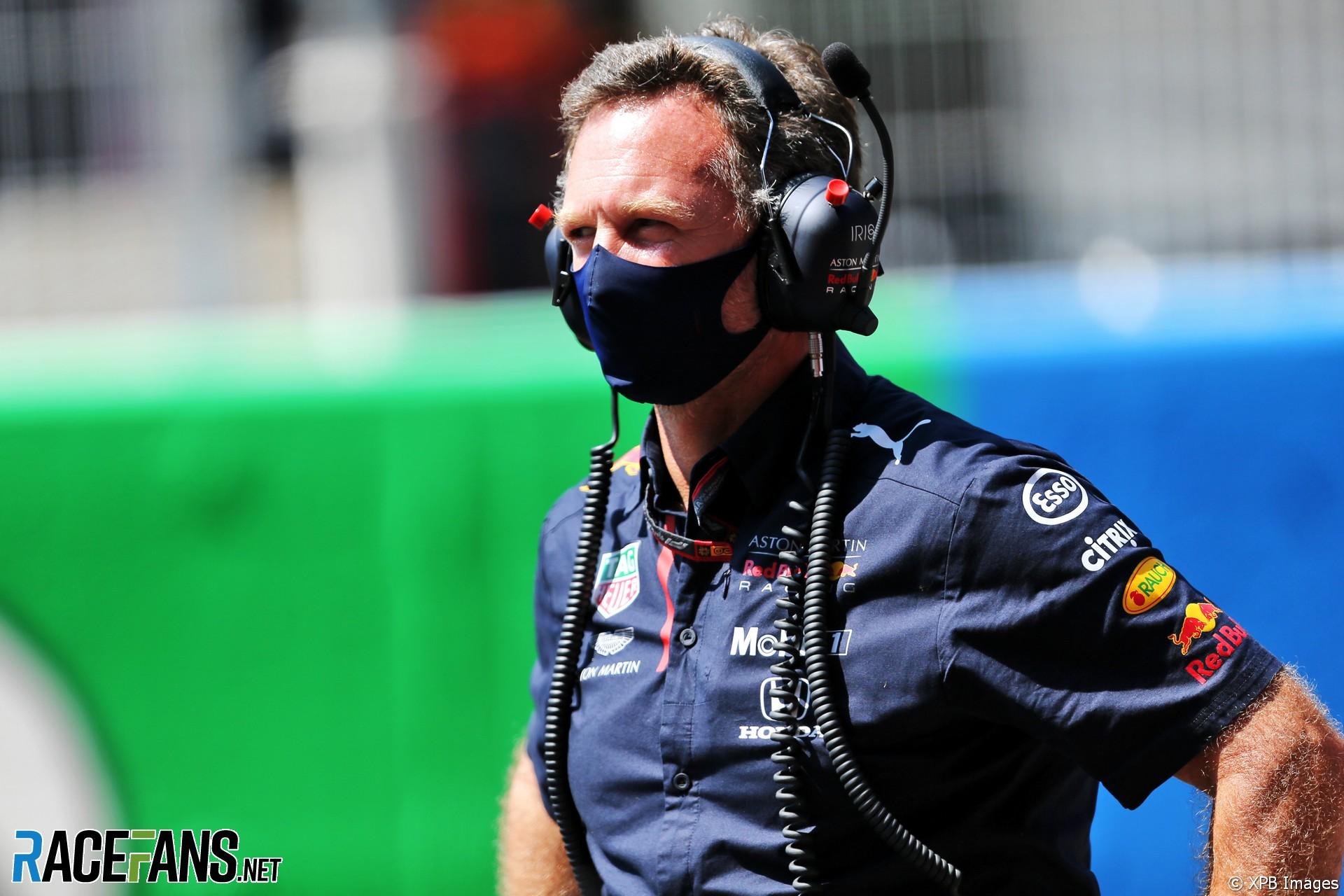 Christian Horner, Red Bull, Circuit de Catalunya, 2020