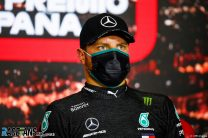 "Bottas says black overalls are ""way too hot"" after losing 3kg during race"