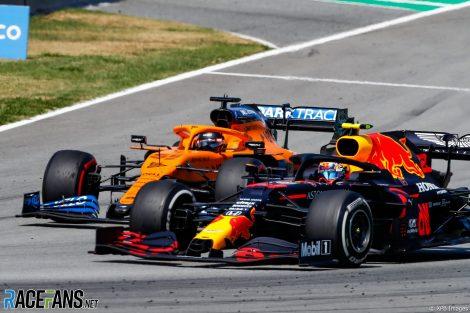 Alexander Albon, Red Bull, Circuit de Catalunya, 2020