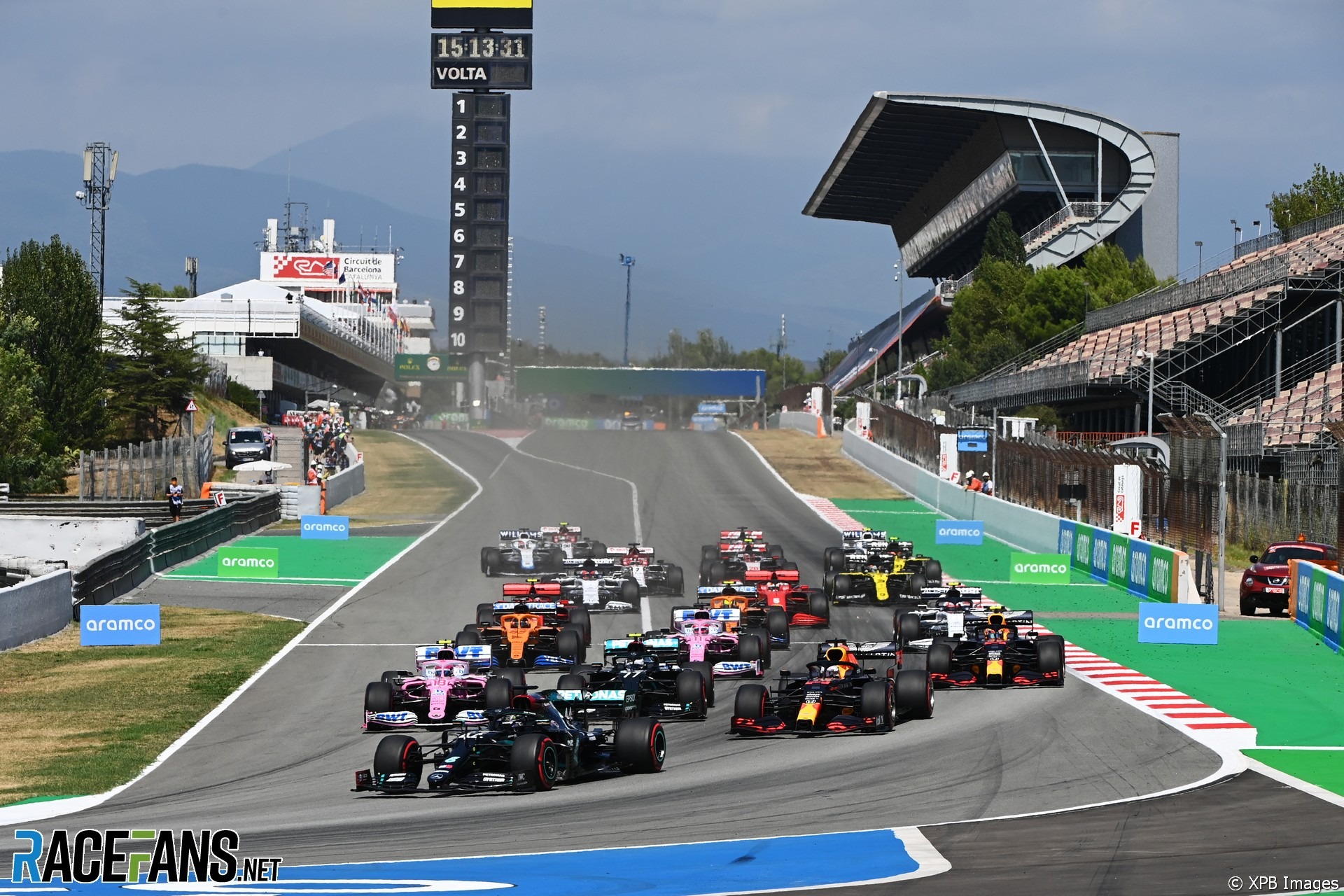 Start, Circuit de Catalunya, 2020