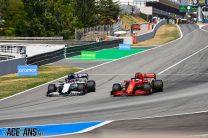 Daniil Kvyat, Sebastian Vettel, Circuit de Catalunya, 2020