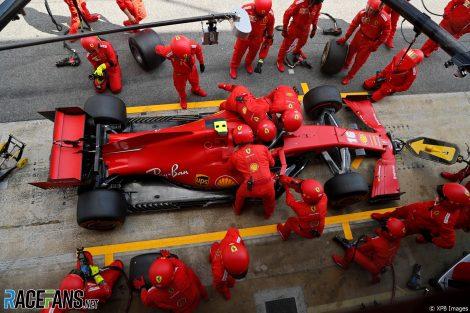 Charles Leclerc, Ferrari, Circuit de Catalunya, 2020