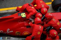 """Leclerc drove two laps with seat belts """"off"""" after engine glitch"""