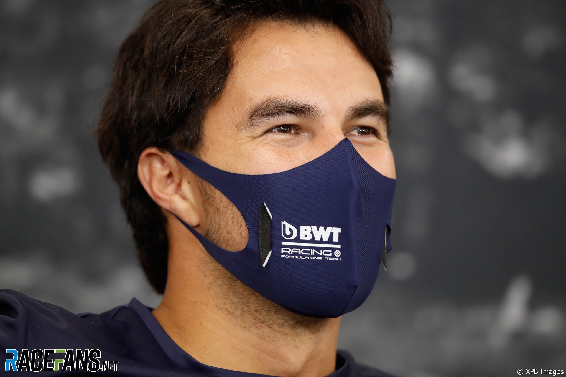 Sergio Perez, Racing Point, Spa-Francorchamps, 2020