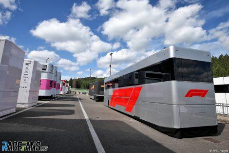 Paddock, Spa-Francorchamps, 2020