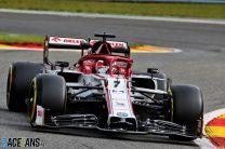 Kimi Raikkonen, Alfa Romeo, Spa-Francorchamps, 2020