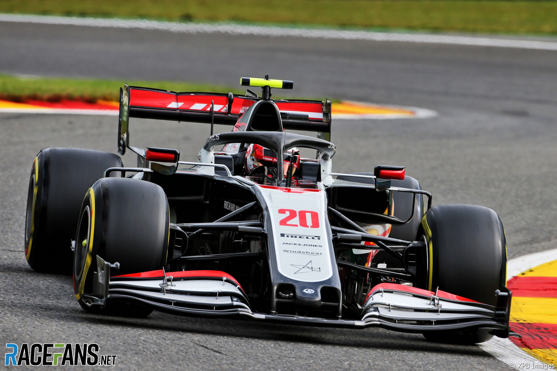 Kevin Magnussen, Haas, Spa-Francorchamps, 2020
