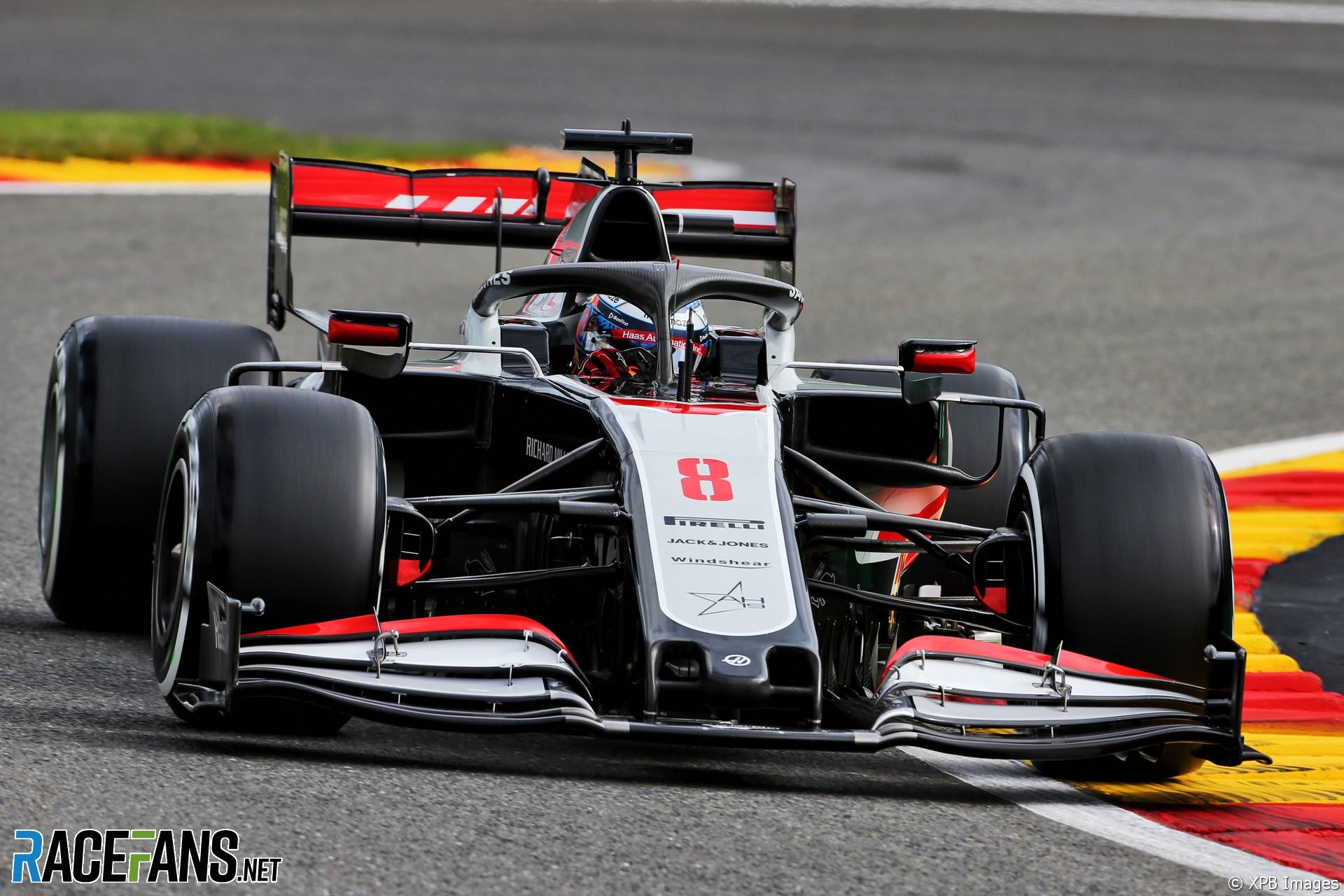 Romain Grosjean, Haas, Spa-Francorchamps, 2020