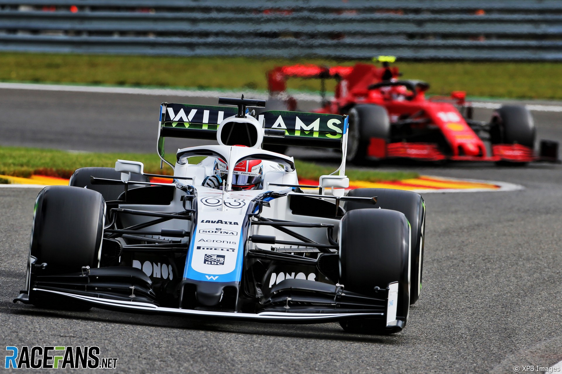 George Russell, Williams, Spa-Francorchamps, 2020