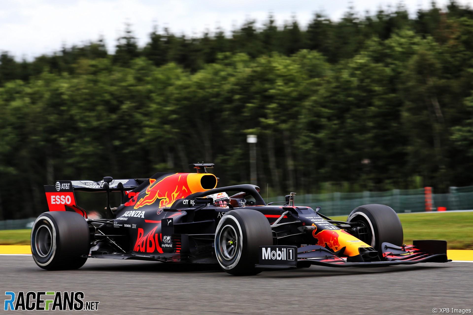 Max Verstappen, Red Bull, Spa-Francorchamps, 2020