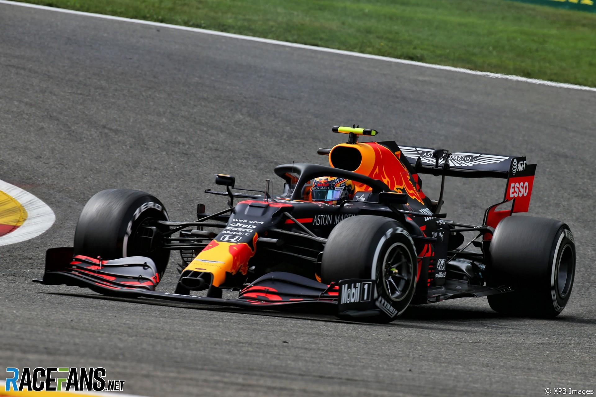 Alexander Albon, Red Bull, Spa-Francorchamps, 2020