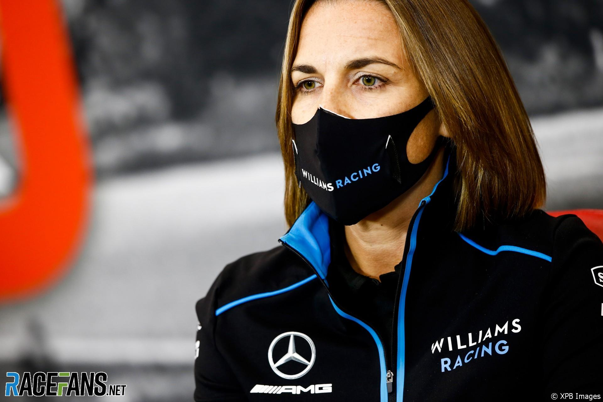 Claire Williams, Williams, Spa-Francorchamps, 2020