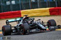 2020 Belgian Grand Prix grid
