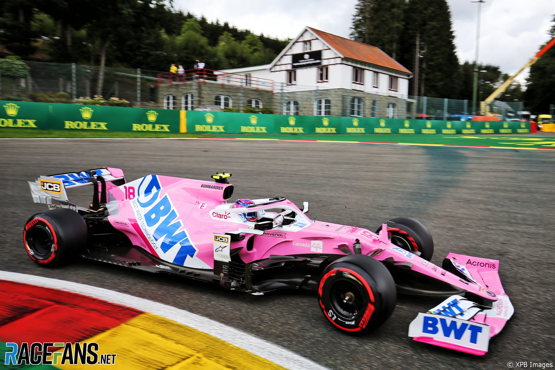 Lance Stroll, Racing Point, Spa-Francorchamps, 2020