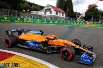 Sainz will not start Belgian GP after exhaust failure